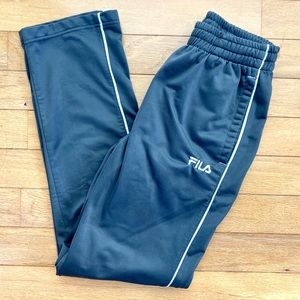 Fila men's track pants gym athletic workout Medium